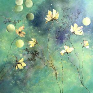 Claudia Gubser gelbe Blumen