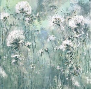 Claudia Gubser Blumen im Grün