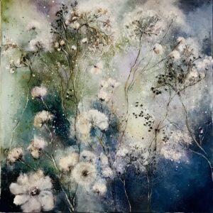 Claudia Gubser weisse Blumen